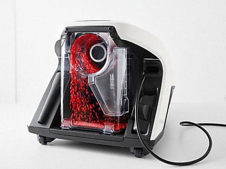 Putekļu sūcējs  Blizzard CX1 Red aut
