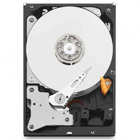 Cietais disks Red, 4TB, 6Gbps Variable RPM, 4000 GB, HDD, 64 MB WD40EFRX