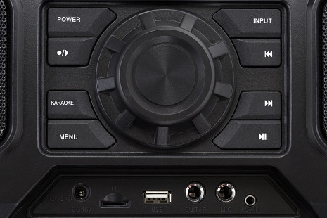 Skaņas sistēma ar karaoke  ZND_CRUISER
