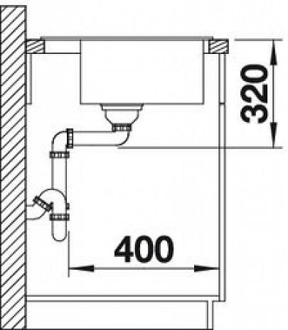 Mākslīga granīta izlietne  B517317