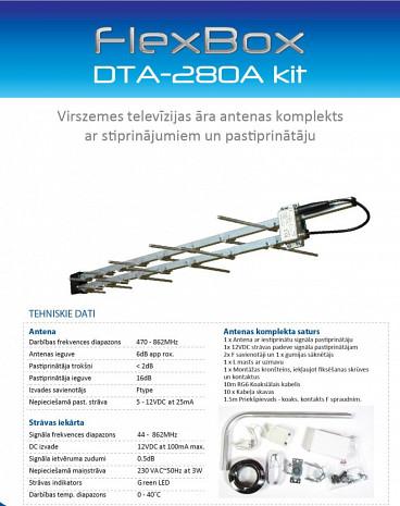 TV antena  DTA-280A