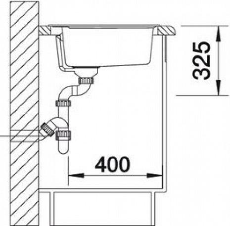 Mākslīga granīta izlietne  B515672